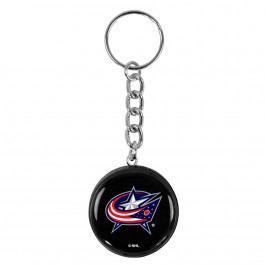 Přívěsek na klíče SHER-WOOD puk NHL Columbus Blue Jackets