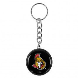 Přívěsek na klíče SHER-WOOD puk NHL Ottawa Senators