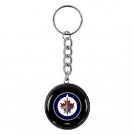 Přívěsek na klíče SHER-WOOD puk NHL Winnipeg Jets