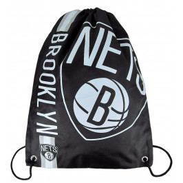 Vak Forever Collectibles Cropped Logo Drawstring NBA Brooklyn Nets