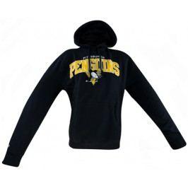 Pánská mikina s kapucí Mitchell & Ness Team Arch NHL Pittsburgh Penguins