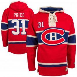 Pánská mikina s kapucí Old Time Hockey Player Lacer Montreal Canadiens Carey Price 31