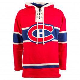 Pánská mikina s kapucí Old Time Hockey Lacer Fleece NHL Montreal Canadiens