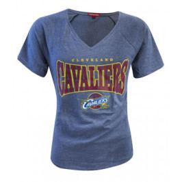 Dámské tričko Mitchell & Ness Home Stretch V-Neck NBA Cleveland Cavaliers