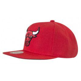 Kšiltovka Mitchell & Ness Solid Team Colour NBA Chicago Bulls