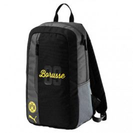 Batoh Puma Fanwear Borussia Dortmund černo-šedý