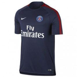 Pánské fotbalové tričko Nike Breathe Squad Paris SG tmavě modré