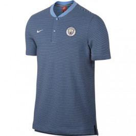 Pánská polokošile Nike Modern Grand Slam Manchester City FC modrá