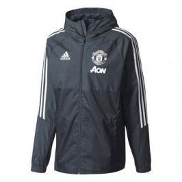 Pánská bunda adidas Manchester United FC šedo-černá