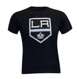 Dětské tričko Levelwear Core Logo NHL Los Angeles Kings černé