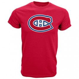 Dětské tričko Levelwear Core Logo NHL Montreal Canadiens červené