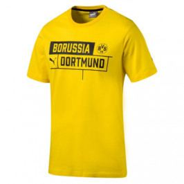 Pánské tričko Puma Borussia Dortmund cyber žluté