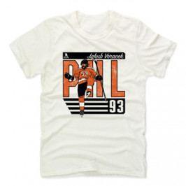 Pánské tričko 500 LEVEL City O NHL Philadelphia Flyers Jakub Voráček 93 bílé