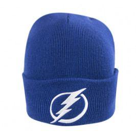 Zimní čepice Mitchell & Ness Logo Cuff Knit NHL Tampa Bay Lightning