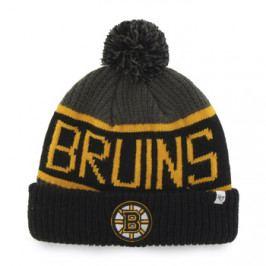 Zimní čepice 47 Brand Calgary Cuff Knit NHL Boston Bruins
