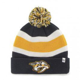 Zimní čepice 47 Brand Breakaway Cuff Knit NHL Nashville Predators