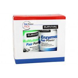 Survival Multivitamin Fair Power 60 tbl + Enzymes Fair Power 60 tbl