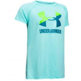 Dětské tričko Under Armour Solid Big Logo SS Blue