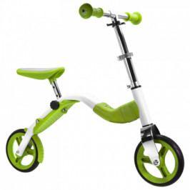 Dětská koloběžka a odrážedlo v jednom Scoobik zelená