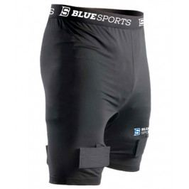 Šortky se suspenzorem Blue Sports Classic Compression Short SR