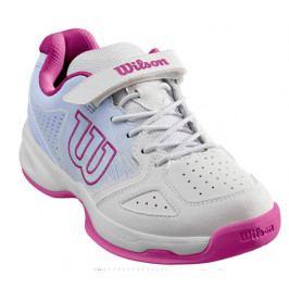 Dětská tenisová obuv Wilson Stroke Kids White