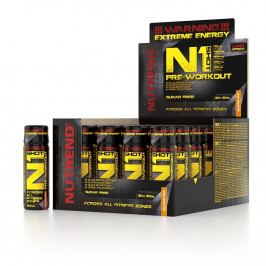 Nutrend N1 Shot Pre-Workout 20 x 60 ml