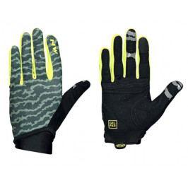 Dlouhoprsté cyklistické rukavice Northwave Blaze 2 zeleno-žluté