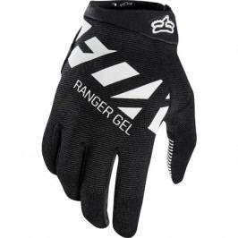 Dlouhoprsté cyklistické rukavice Fox Ranger Gel černo-bílé