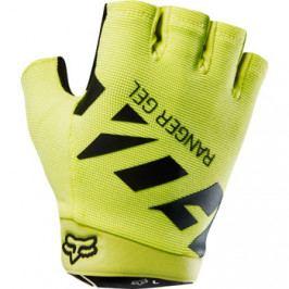 Cyklistické rukavice Fox Ranger Gel žluto-černé