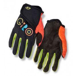 Dětské dlouhoprsté cyklistické rukavice GIRO DND Jr II