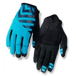 Dlouhoprsté cyklistické rukavice GIRO DND černo-modré