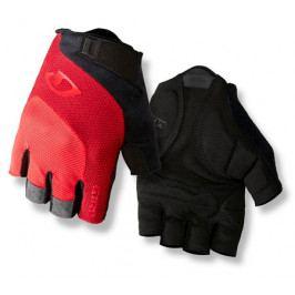 Cyklistické rukavice GIRO Bravo černo-červené