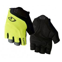 Cyklistické rukavice GIRO Bravo černo-žluté
