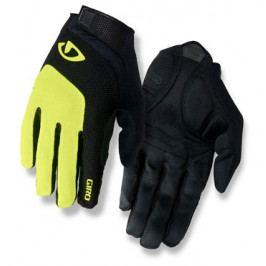 Dlouhoprsté cyklistické rukavice GIRO Bravo LF černo-žluté