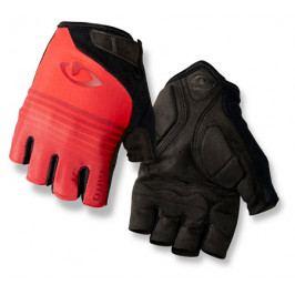 Cyklistické rukavice GIRO Jag černo-červené