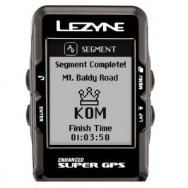 Cyklocomputer Lezyne Super GPS černý