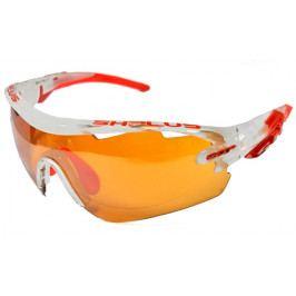 Cyklistické brýle SH+ RG 5100 Reactive Flash bílo-červené