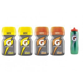 2x Gatorade Lemon a Orange Powder + 1x Láhev Gatorade