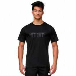 Pánské tričko Butterfly Stripe Black