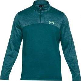 Pánská mikina Under Armour Fleece ¼ Zip Arena Green