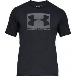 Pánské tričko Under Armour Boxed Sportstyle SS Black