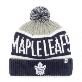 Zimní čepice 47 Brand Calgary Cuff Knit NHL Toronto Maple Leafs