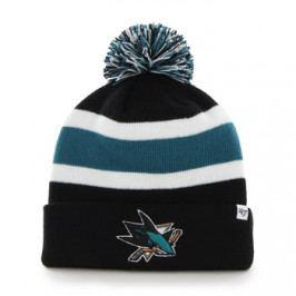 Zimní čepice 47 Brand Breakaway Cuff Knit NHL San Jose Sharks