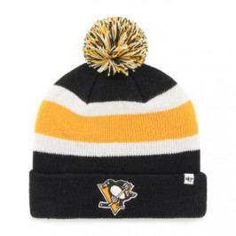 Zimní čepice 47 Brand Breakaway Cuff Knit NHL Pittsburgh Penguins