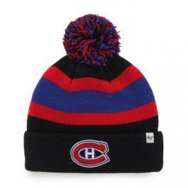Zimní čepice 47 Brand Breakaway Cuff Knit NHL Montreal Canadiens