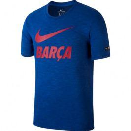 Pánské tričko Nike Dry FC Barcelona tmavě modré