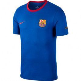 Pánské tričko Nike Crest FC Barcelona tmavě modré 2018