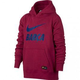Dětská mikina Nike Sportswear FC Barcelona vínová