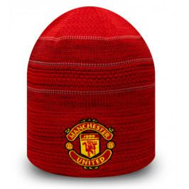 Zimní čepice New Era Engineered Skull Knit Manchester United FC