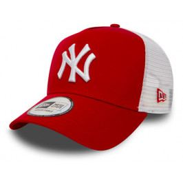 Kšiltovka New Era Clean Trucker  MLB New York Yankees Red/White